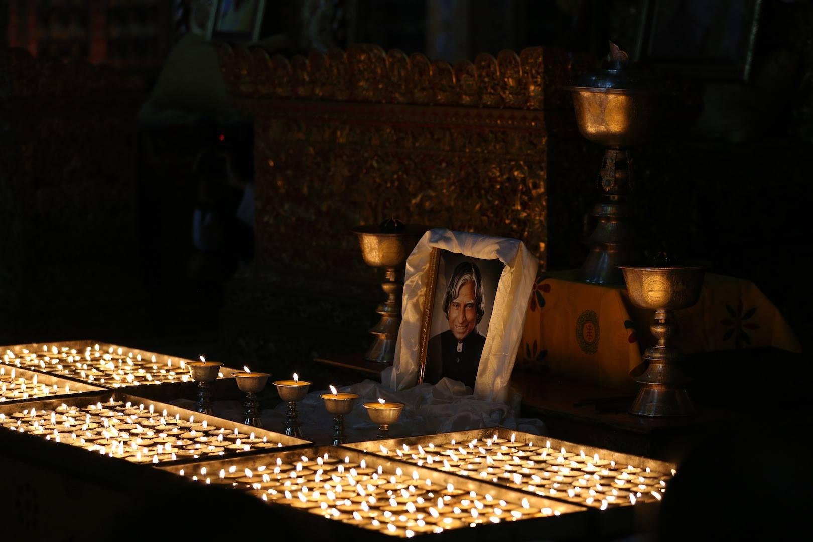 RIP Addul Kalam Lamps