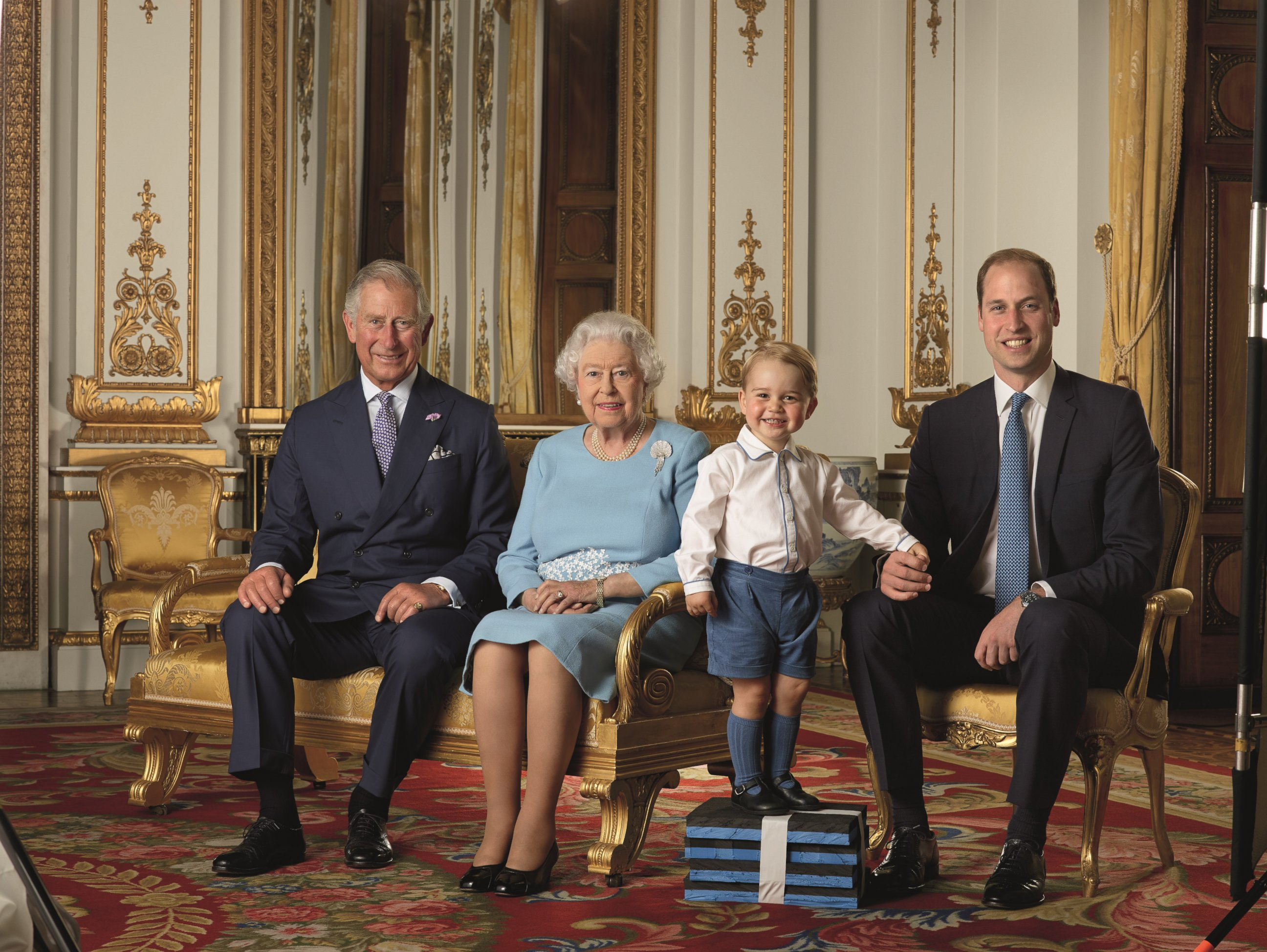 Her Majesty the Queen and Family, Year 90