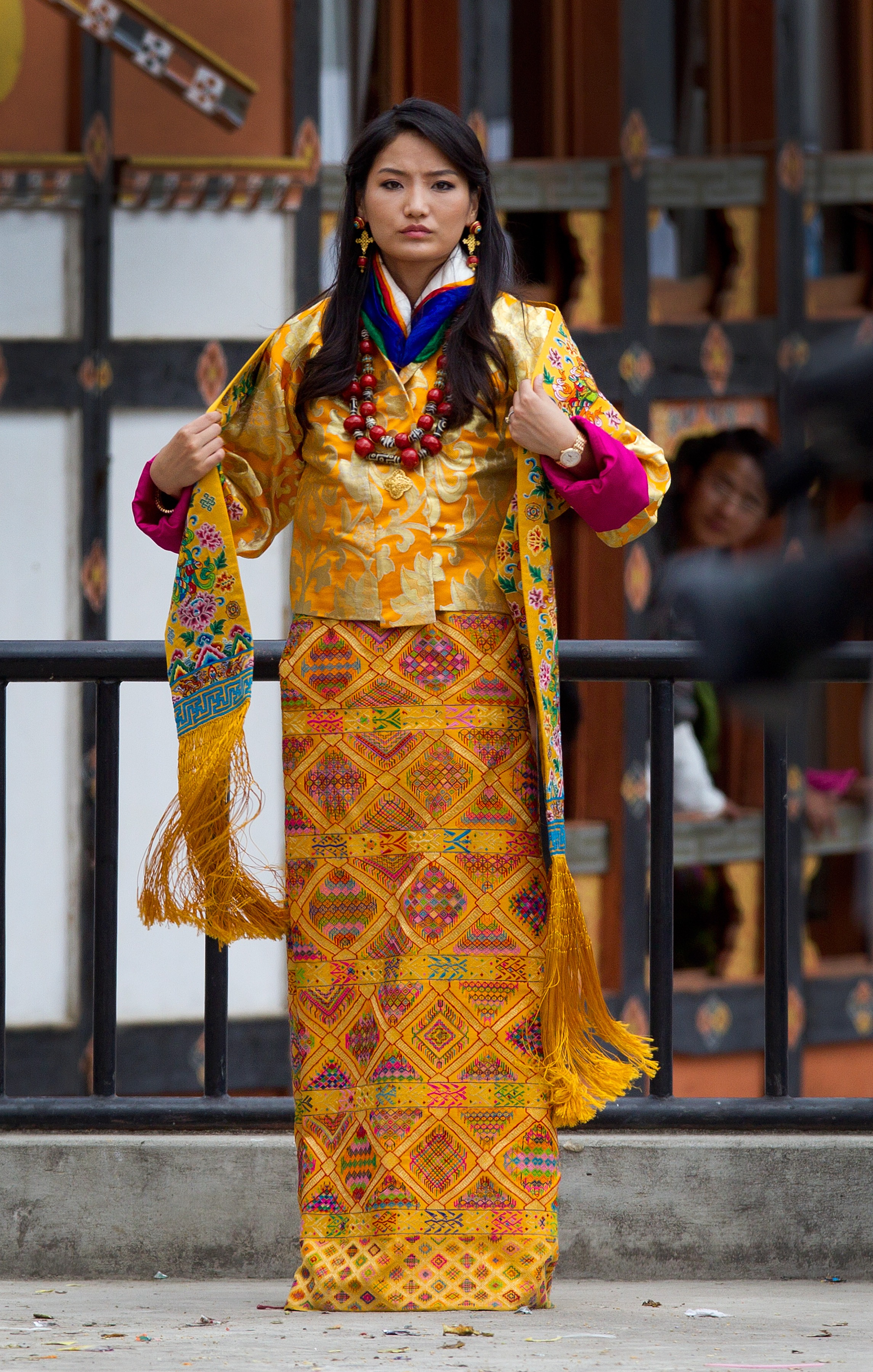 Queen Jetsun Pema, Wedding Day
